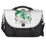 Escudo de la familia de Holmes Bolsa Para Ordenador