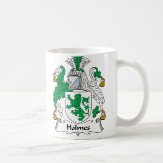 Escudo de la familia de Holmes Taza