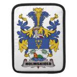Escudo de la familia de Holmskiold Fundas Para iPads