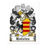 Escudo de la familia de Holsten Postal