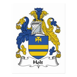 Escudo de la familia de Holt Postales