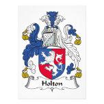 Escudo de la familia de Holton Comunicados Personales