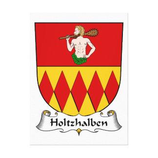 Escudo de la familia de Holtzhalben Lienzo Envuelto Para Galerías
