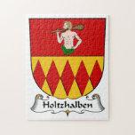 Escudo de la familia de Holtzhalben Puzzle Con Fotos
