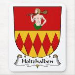Escudo de la familia de Holtzhalben Tapetes De Ratón