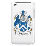 Escudo de la familia de Holywood Case-Mate iPod Touch Carcasa