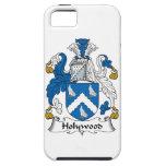 Escudo de la familia de Holywood iPhone 5 Case-Mate Cárcasa