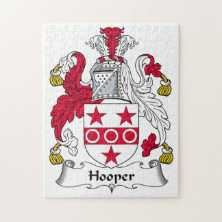 Escudo de la familia de Hooper Puzzles Con Fotos