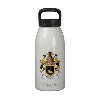 Escudo de la familia de Hopfner Botella De Agua Reutilizable