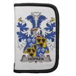 Escudo de la familia de Hopken Organizador