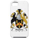 Escudo de la familia de Hopkins iPhone 5 Case-Mate Protector