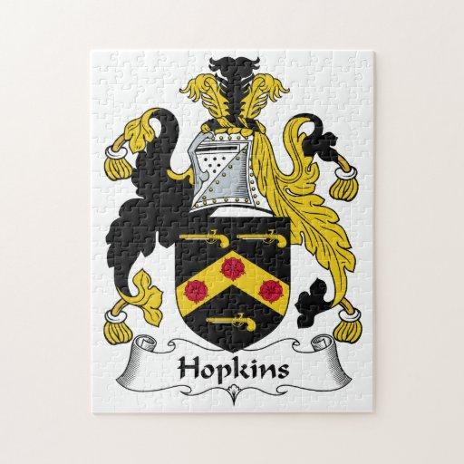 Escudo de la familia de Hopkins Rompecabeza