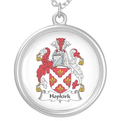Escudo de la familia de Hopkirk Colgantes