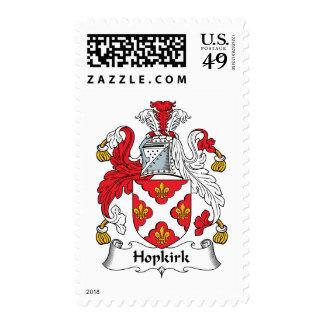 Escudo de la familia de Hopkirk Sellos