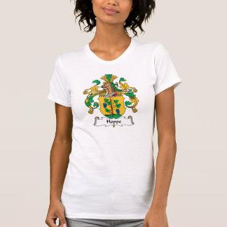 Escudo de la familia de Hoppe Camisetas