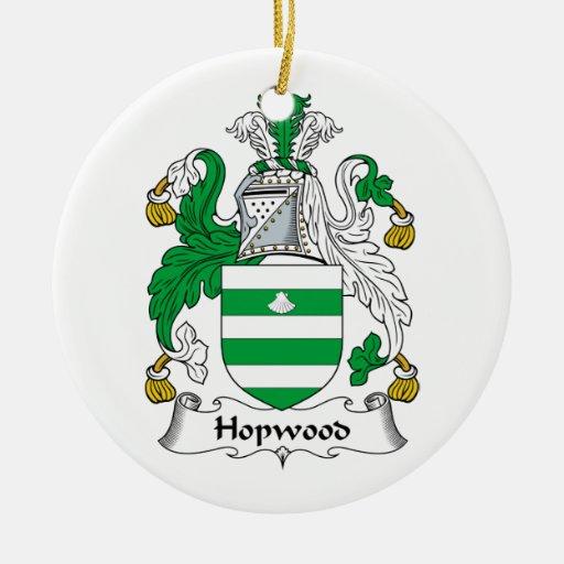 Escudo de la familia de Hopwood Ornato
