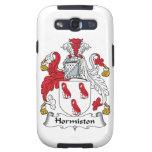 Escudo de la familia de Hormiston Galaxy S3 Cárcasa