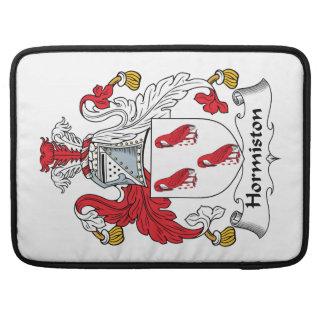 Escudo de la familia de Hormiston Funda Para Macbook Pro