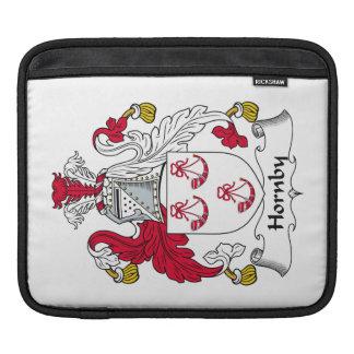Escudo de la familia de Hornby Funda Para iPads