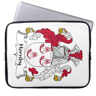 Escudo de la familia de Hornby Fundas Portátiles
