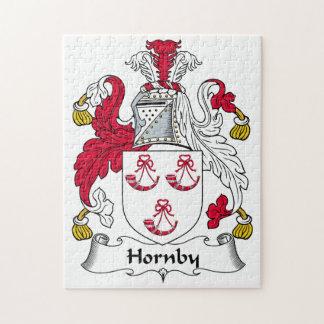 Escudo de la familia de Hornby Rompecabezas Con Fotos