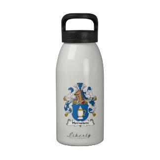 Escudo de la familia de Hornstein Botella De Agua