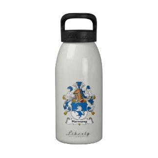 Escudo de la familia de Hornung Botella De Agua