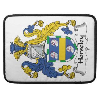 Escudo de la familia de Horseley Funda Para Macbook Pro