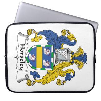 Escudo de la familia de Horseley Manga Portátil
