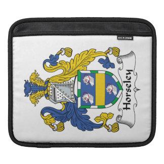 Escudo de la familia de Horseley Mangas De iPad