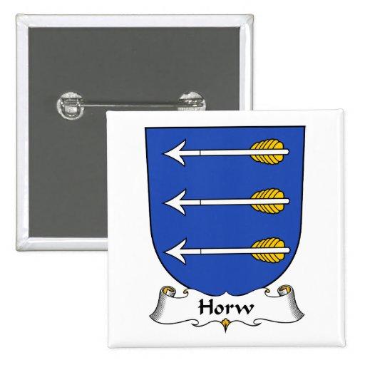 Escudo de la familia de Horw Pins