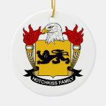 Escudo de la familia de Hotchkiss Adorno