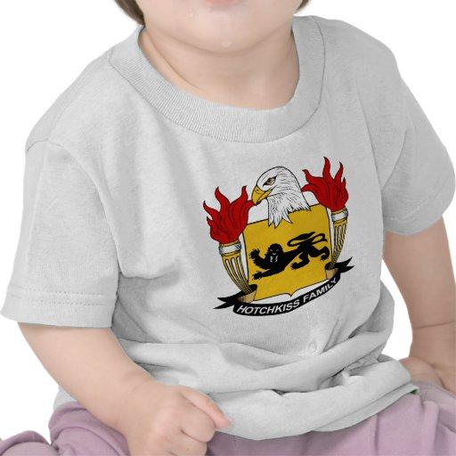 Escudo de la familia de Hotchkiss Camisetas