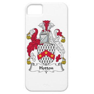 Escudo de la familia de Hotton iPhone 5 Protector