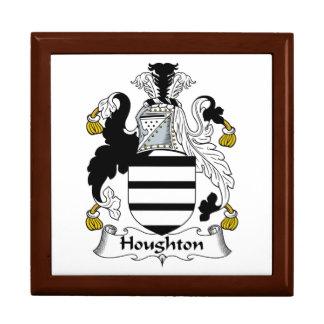 Escudo de la familia de Houghton Cajas De Regalo