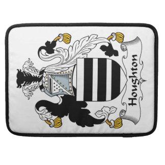 Escudo de la familia de Houghton Funda Para Macbooks
