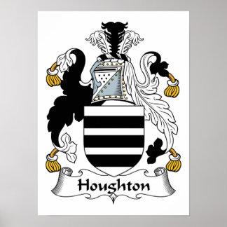 Escudo de la familia de Houghton Impresiones