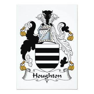 """Escudo de la familia de Houghton Invitación 5"""" X 7"""""""