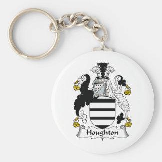 Escudo de la familia de Houghton Llaveros