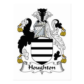 Escudo de la familia de Houghton Postal