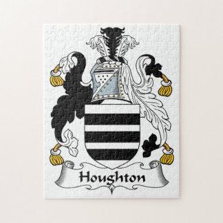 Escudo de la familia de Houghton Puzzle