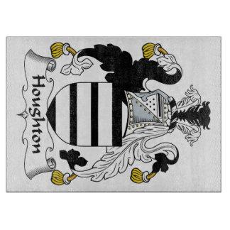 Escudo de la familia de Houghton Tabla De Cortar