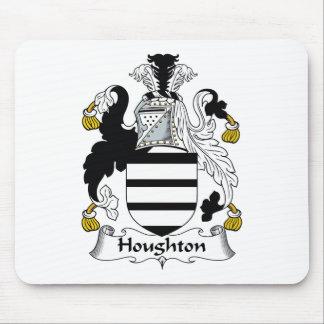 Escudo de la familia de Houghton Tapetes De Raton