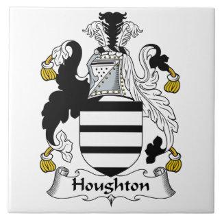 Escudo de la familia de Houghton Teja Ceramica