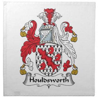 Escudo de la familia de Houldsworth Servilleta De Papel
