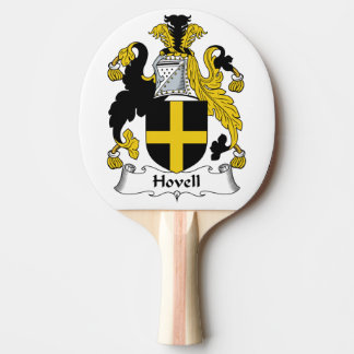 Escudo de la familia de Hovell Pala De Tenis De Mesa
