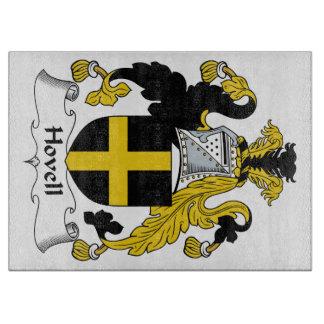 Escudo de la familia de Hovell Tabla De Cortar