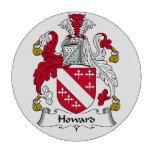 Escudo de la familia de Howard Fichas De Póquer