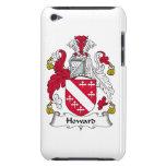 Escudo de la familia de Howard iPod Touch Coberturas