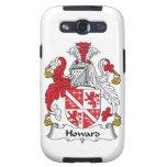 Escudo de la familia de Howard Samsung Galaxy S3 Fundas